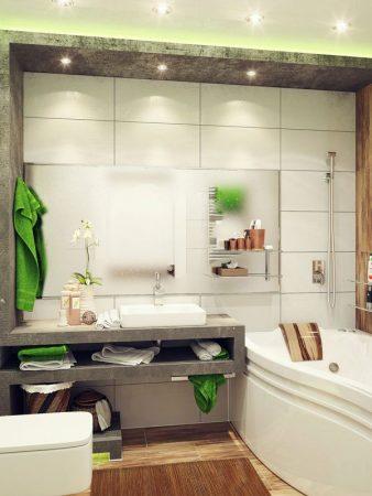 ديكورات حمامات 2019 جديدة (2)
