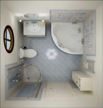 ديكورات حمامات 2019 شيك (1)