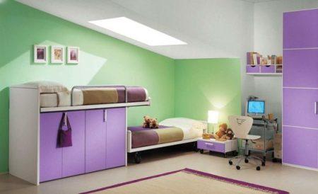 ديكورات غرف اطفال مواليد (1)