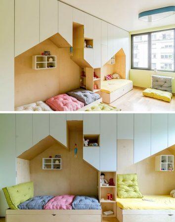 غرف نوم اطفال 2019 مودرن (1)