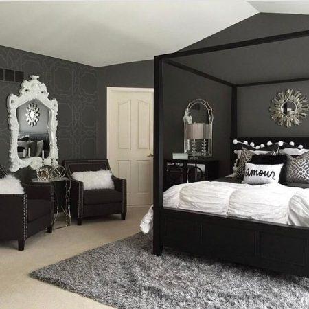 غرف نوم فخمة 2019 (3)