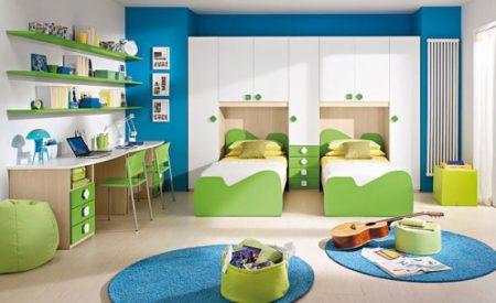 احدث غرف نوم اطفال 2019 ديكورات غرف اطفال جديدة (1)