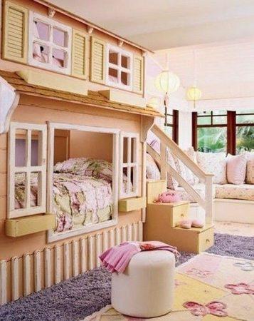 احدث غرف نوم اطفال 2019 ديكورات غرف (2)