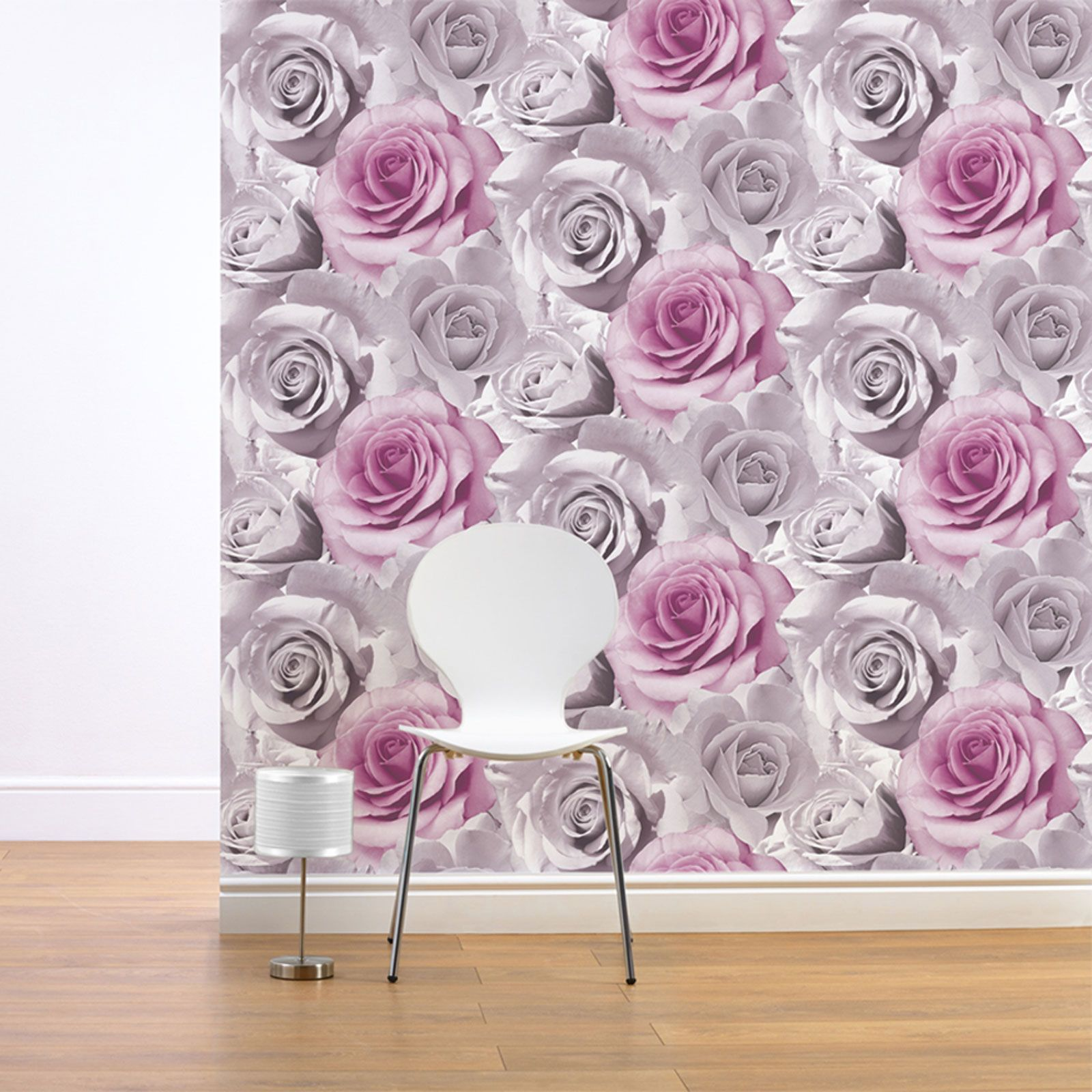 Floral Wallpaper Kitchen Shabby Chic