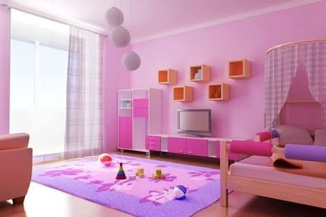دهانات غرف اطفال 2020 1