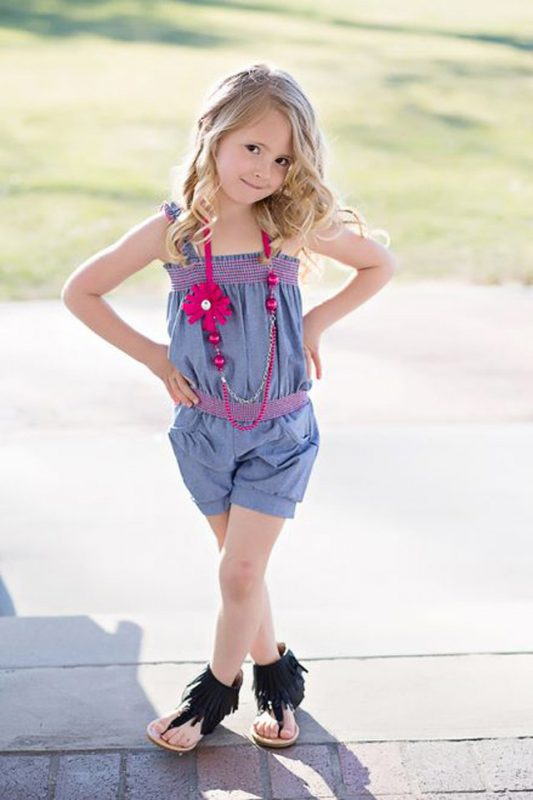 احدث ملابس اطفال بنات 2