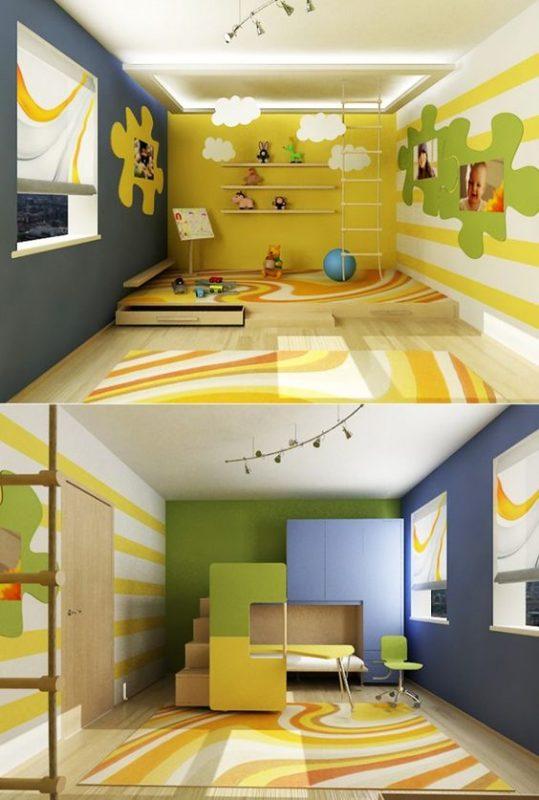 دهانات غرف اطفال 2