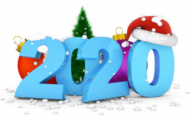 تهنئة بمناسبة العام الجديد 2020 1