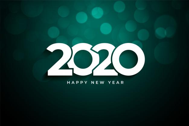 تهنئة بالعام الجديد2020 1