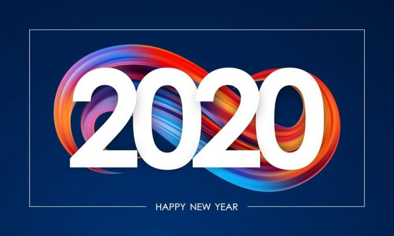 تهنئة بعام 2020 1 1