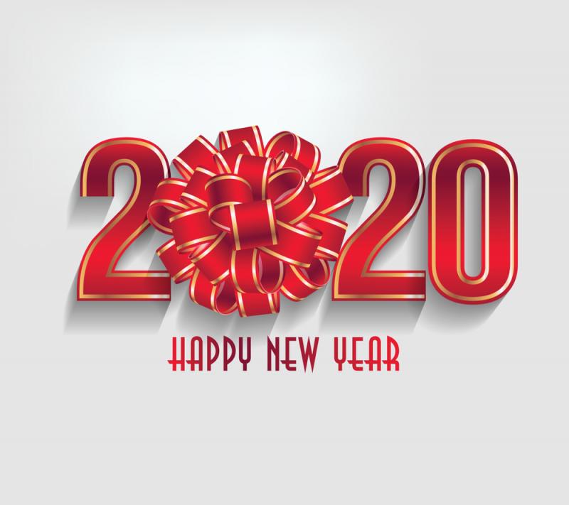 للتهنئة بالعام الجديد2020 2
