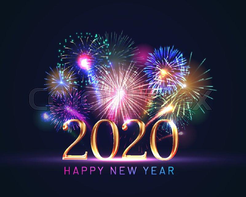 2020 تهنئة بالعام الجديد 2