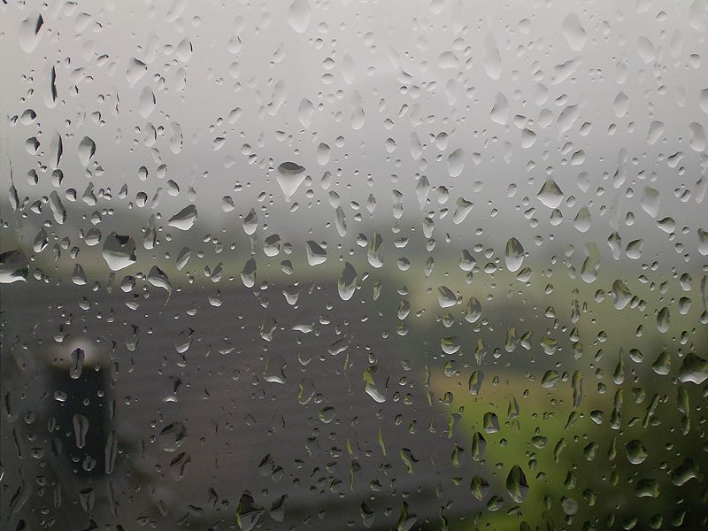 صورة قطرة مطر 1