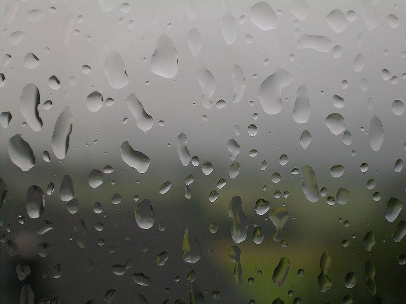 صورة قطرة مطر 2