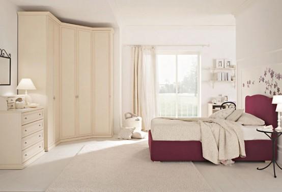 غرف نوم اطفال راقية 1