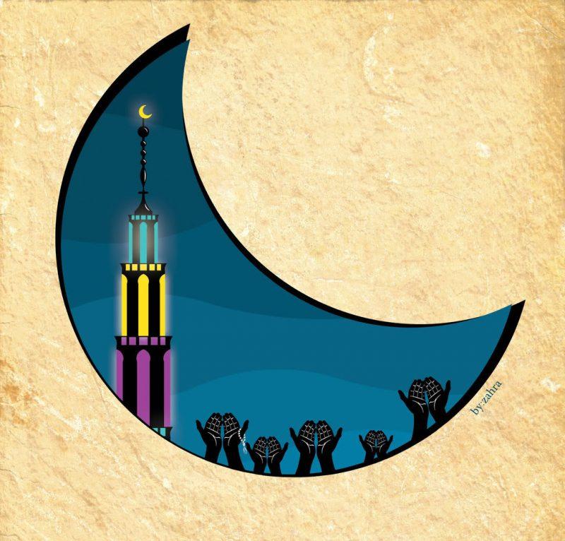 تهنئة شهر رمضان الكريم 2020 خلفيات رمضان 6