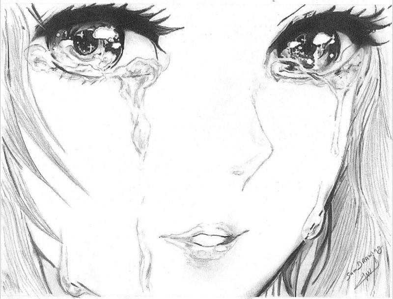 رمزيات دموع 2