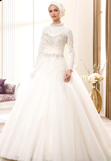 اجمل صور فساتين زفاف 2021 1
