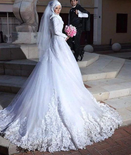 اجمل صور فساتين زفاف 2021 3