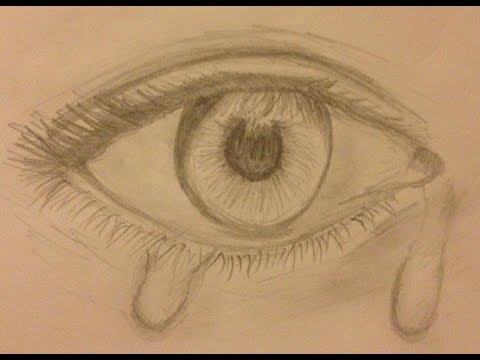 رمزية عيون حزينه دموع عيون 2
