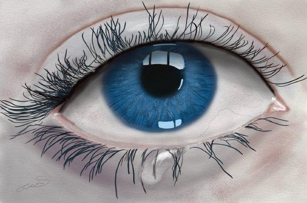 عيون حزينة 1
