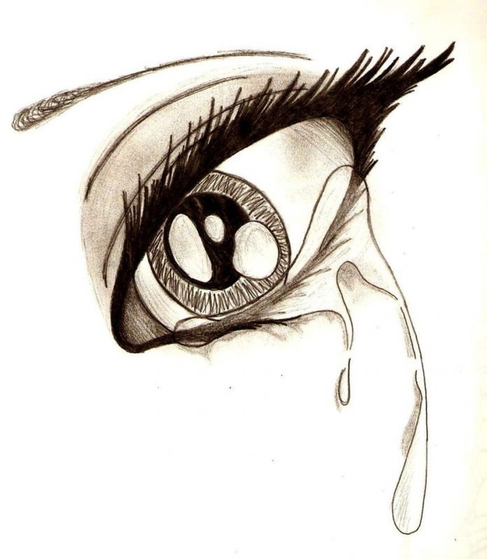 عيون دموع 1