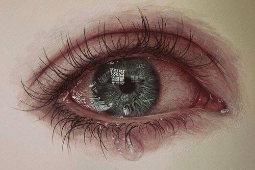 صور عيون دموع 3