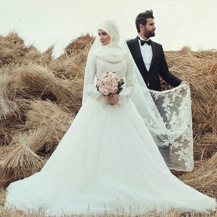 صور فساتين زفاف 2021 2