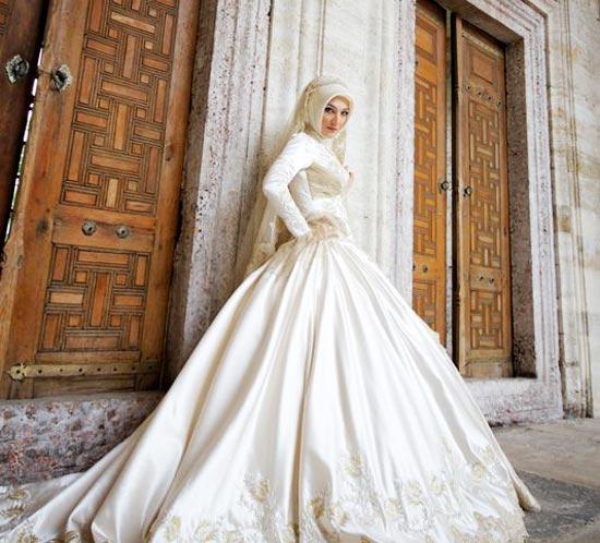 صور فساتين زفاف2021 3