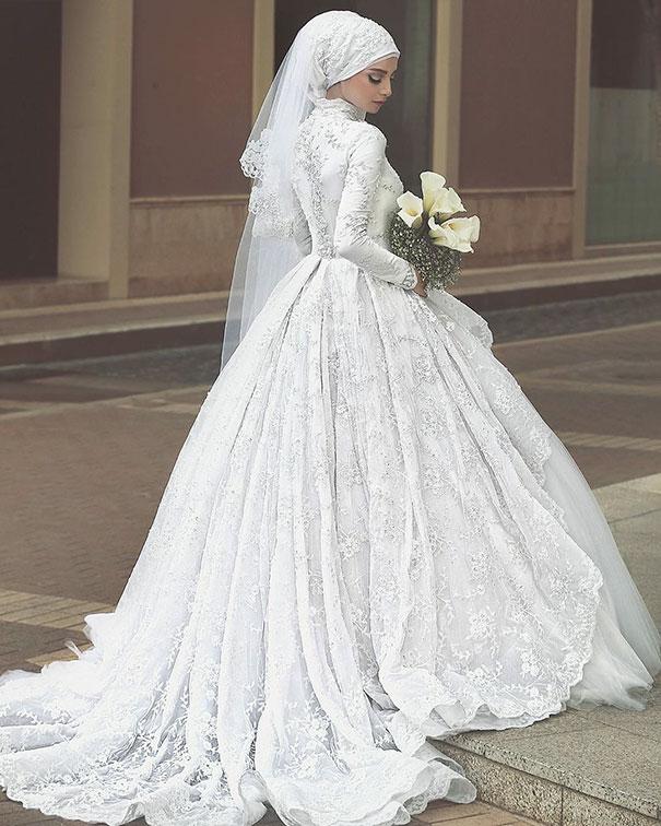 فساتين زفاف حلوة جدا 2021 1