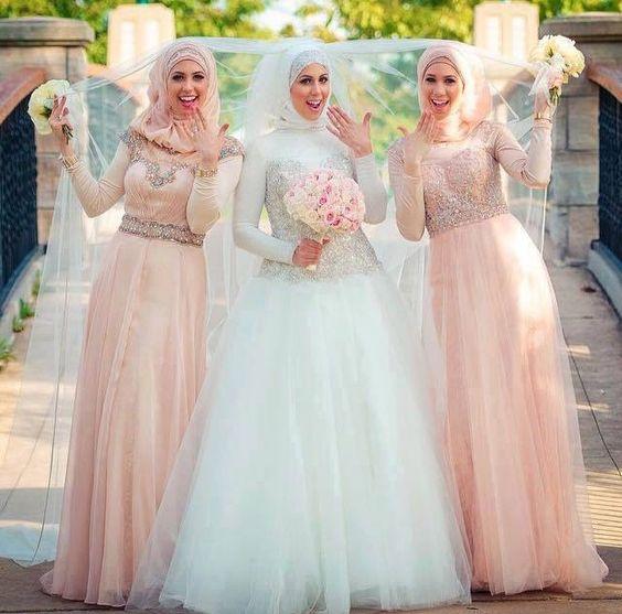 فساتين زفاف شيك2021 3