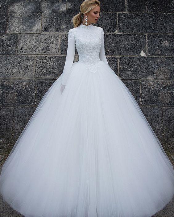 فساتين زفاف2021 1