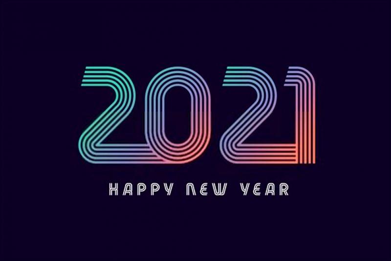 السنة الميلادية 2021 1