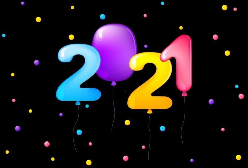 السنة الميلادية 2021 2
