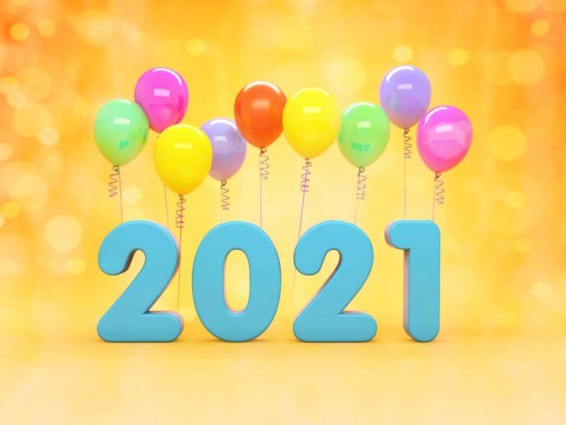 تهنئة العام الجديد 2021 1