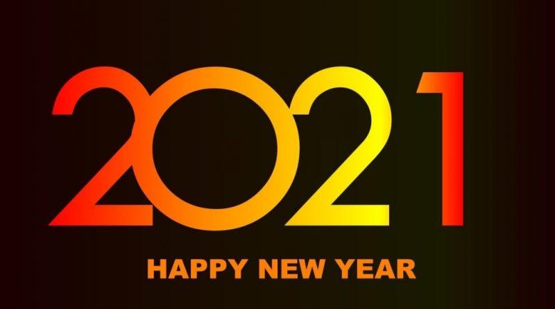 تهنئة العام الجديد 2021 2