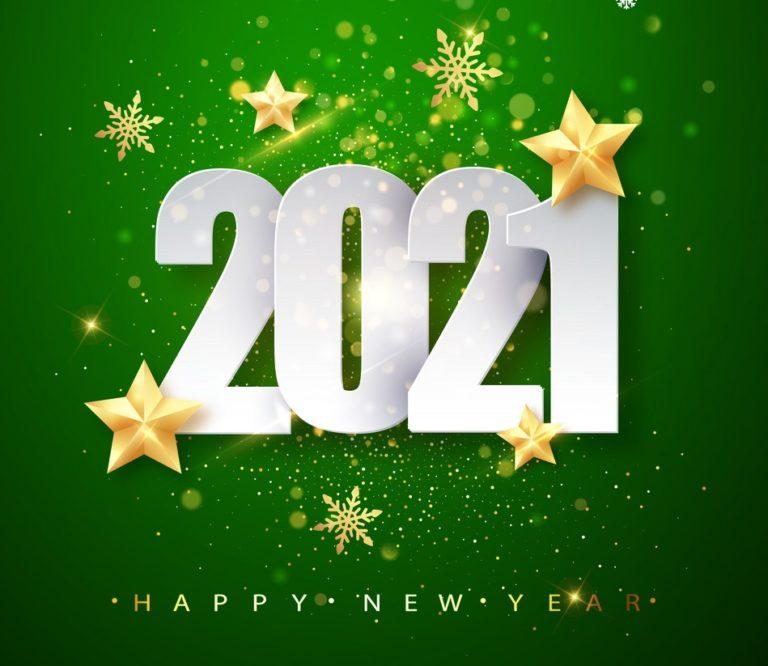 تهنئة العام الجديد 2021 3