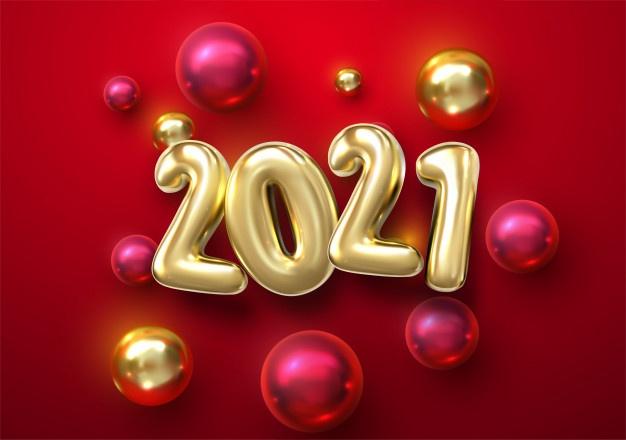 تهنئة العام الجديد 2021 راس السنة الميلادية بطاقات و رمزيات تهنئة 2
