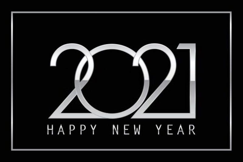 تهنئة بالعام الجديد 2021 3