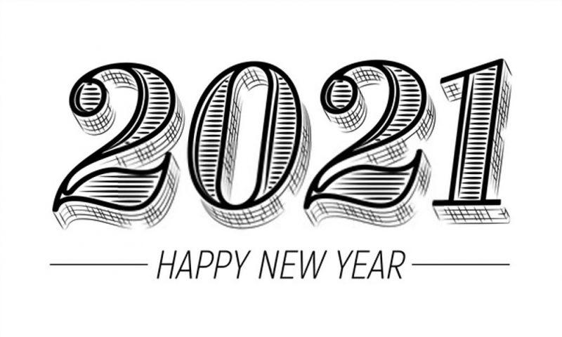 تهنئة بمناسبة العام الجديد 2021 1