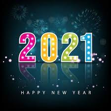 تهنئة بمناسبة العام الجديد 2021 2