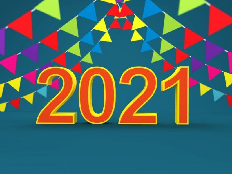 تهنئة 2021 العام الميلادي الجديد راس السنة الميلادية 17