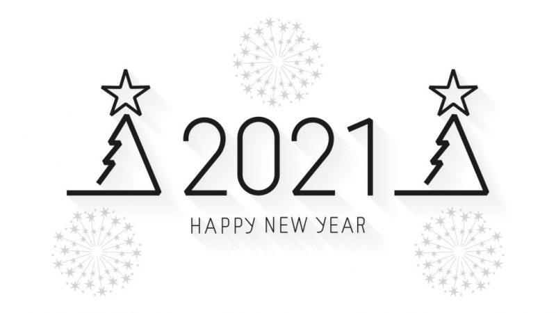تهنئة 2021 العام الميلادي الجديد راس السنة الميلادية 19