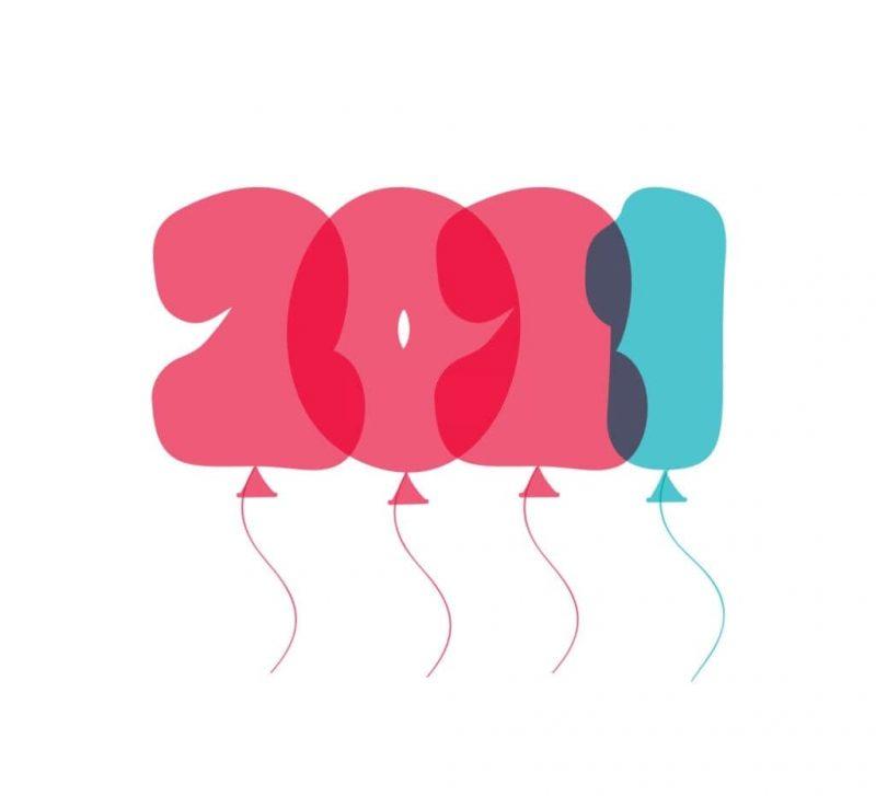 تهنئة 2021 العام الميلادي الجديد راس السنة الميلادية 21