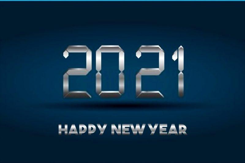 تهنئة 2021 العام الميلادي الجديد راس السنة الميلادية 4