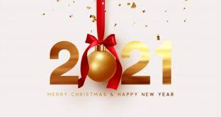 صور تهنئة 2021 العام الميلادي الجديد راس السنة الميلادية 5