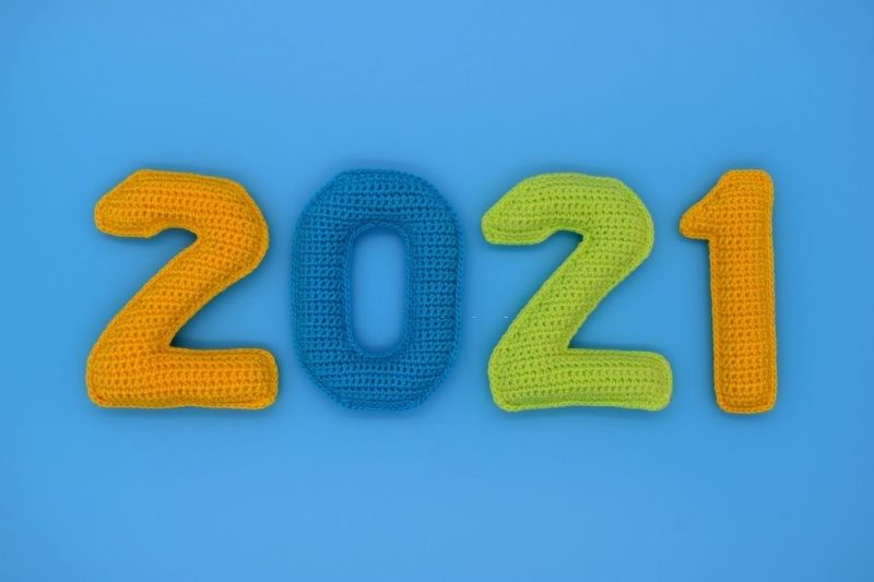 تهنئة 2021 العام الميلادي الجديد راس السنة الميلادية 6