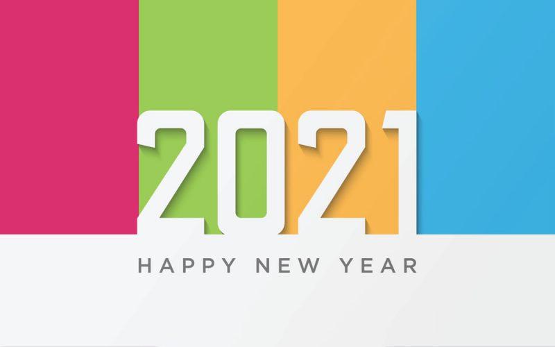 تهنئة 2021 العام الميلادي الجديد راس السنة الميلادية 7