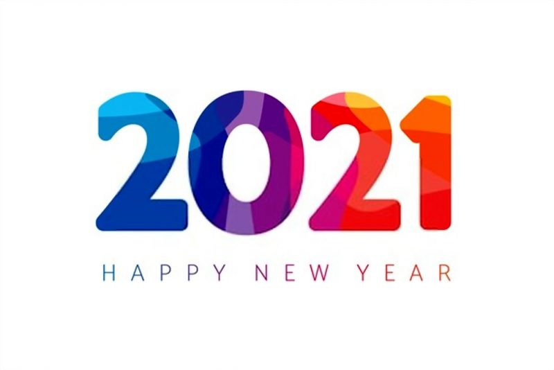 تهنئة 2021 العام الميلادي الجديد راس السنة الميلادية 8