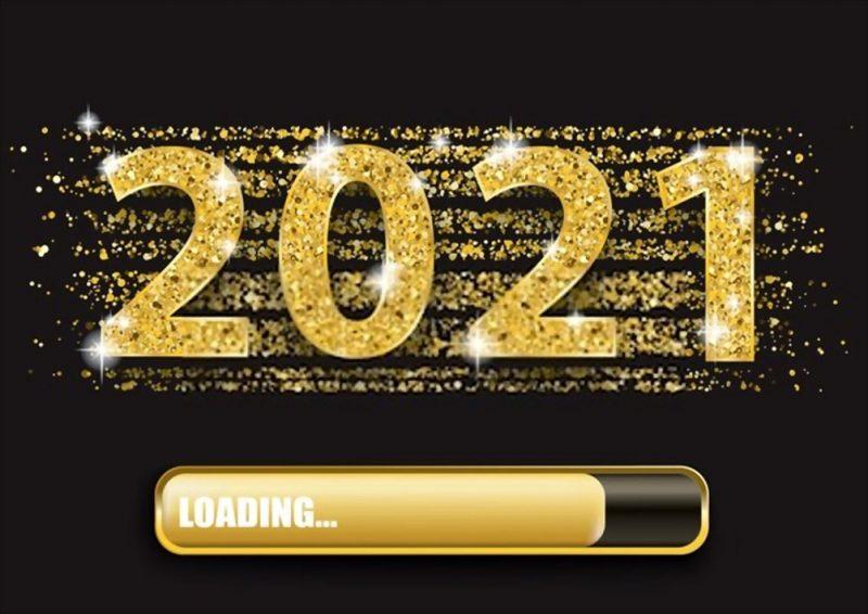 تهنئة 2021 العام الميلادي الجديد راس السنة الميلادية 9